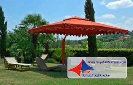 ساخت و نصب چادر آلاچیق و سایبان آلاچیق چتری در شیراز