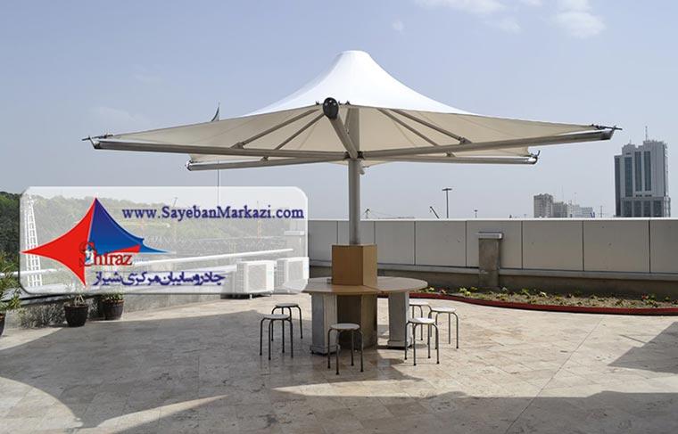 تولید چادر آلاچیق و سایبان آلاچیق چتری در شیراز