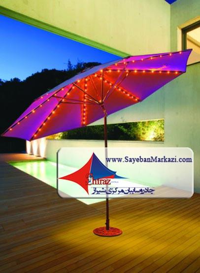 ساخت و نصب سایبان چتری و چادر چتری در شیراز