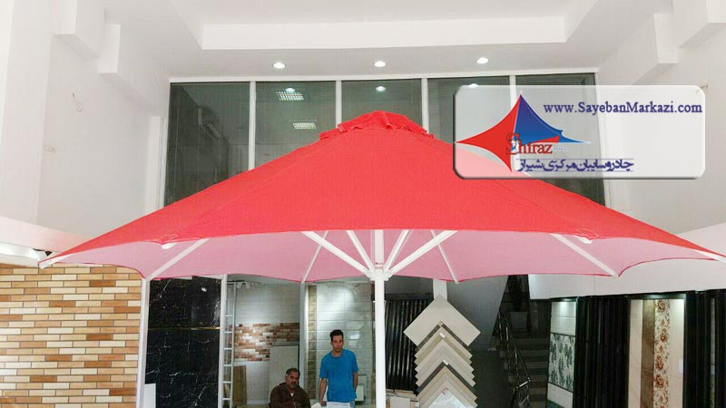 ساخت و نصب چادر چتری و سایبان چتری در شیراز
