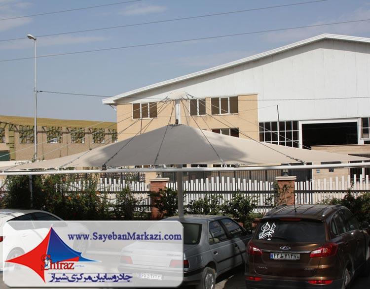 تولید و نصب چادر و سایبان پارکینگ در شیراز