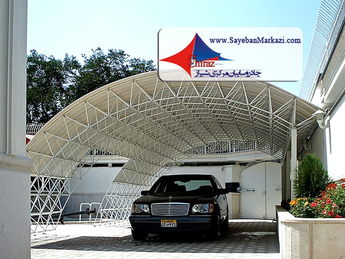 ساخت و نصب سایبان پارکینگ در شیراز